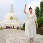 Pilgrimage at the holy place of Buddhism and the birthplace of the Buddha that Lumbini garden