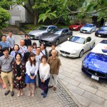 "Maserati photo with the specialty of ""garaku"" Toyama-rich breakfast!"