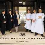 "When saying goodbye with an elegant, traditional hotel ""the Ritz-Carlton of Okinawa"" Ryukyu Kingdom"