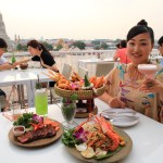 """ARUN Riverside Bangkok"" Sunset Dinner with Sunset and Temple Views"