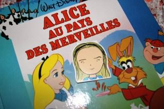 Marque page Alice au pays des merveilles