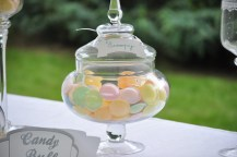 Candy bar mariage scoopy