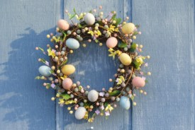 easter couronne paques