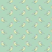 Papier peint oiseau Mimi Lou