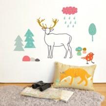 Sticker animaux de la Forêt Mimi Lou