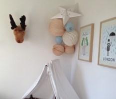 Lampion grappe chambre enfants