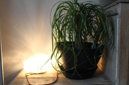Lampe vintage DIY