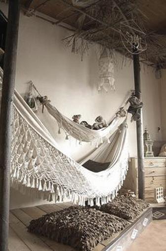 hamac, boheme decors