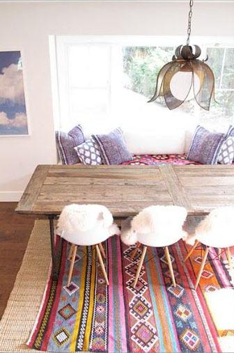 mexicain décors , mexicain chic, table