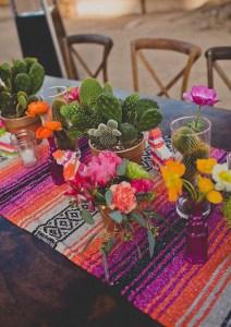 centre de table mexicain