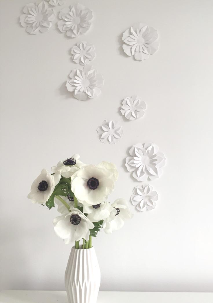DIY anemone en papier