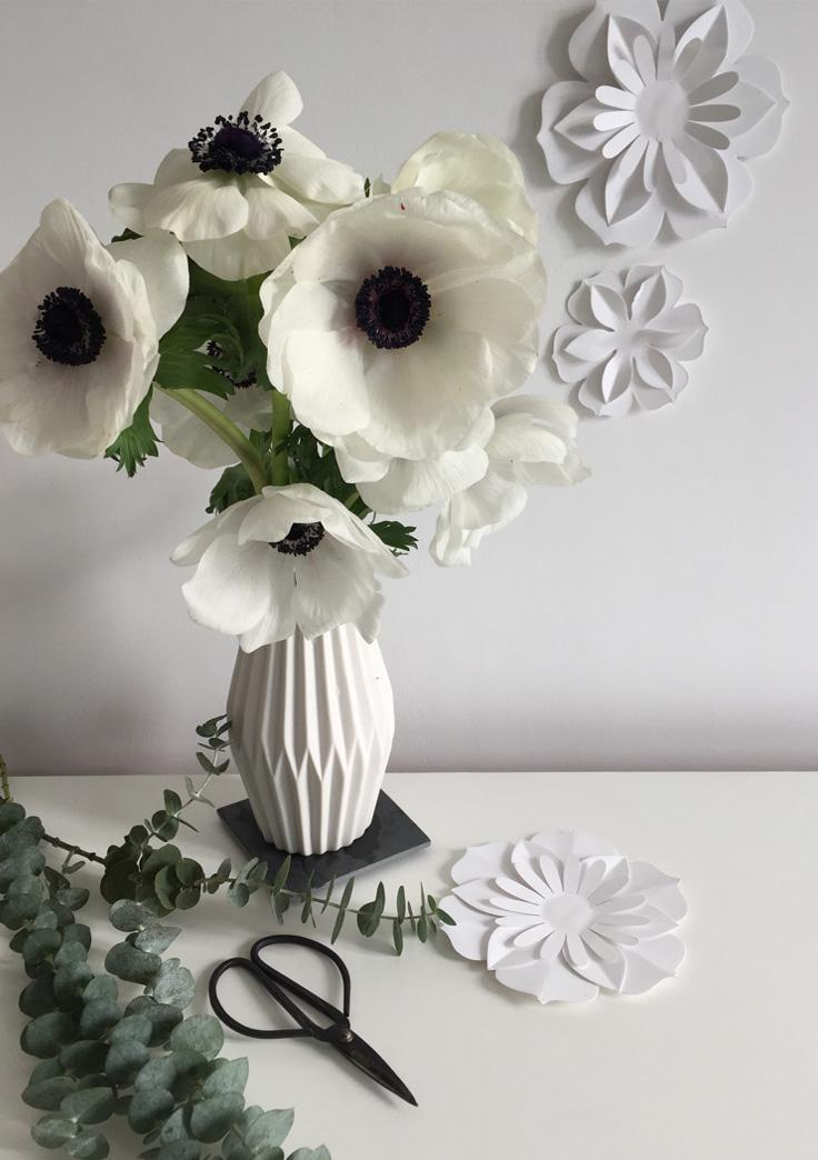 Fleur mise en scène
