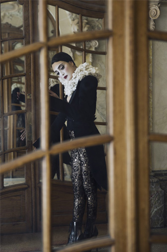 Clown triste shooting pauline darley