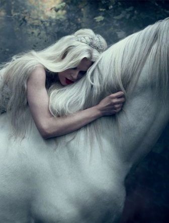 horse and princess -tim-walker