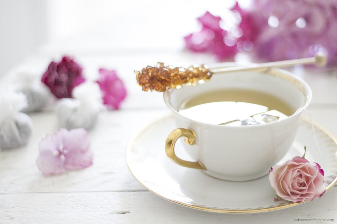 tea time fleuri la délicate parenthèse DIY blog