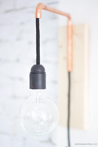 lampe cuivre la délicate parenthèse création DIY pour 18H39