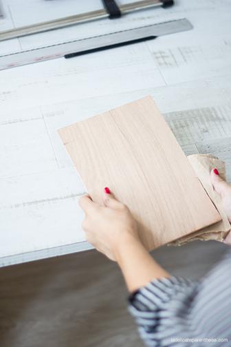 La Délicate Parenthèse création DIY agenda peg- board