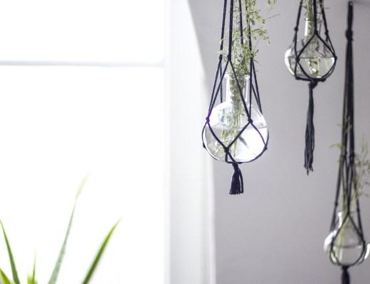 la délicate parenthèse DIY macramé création home decors