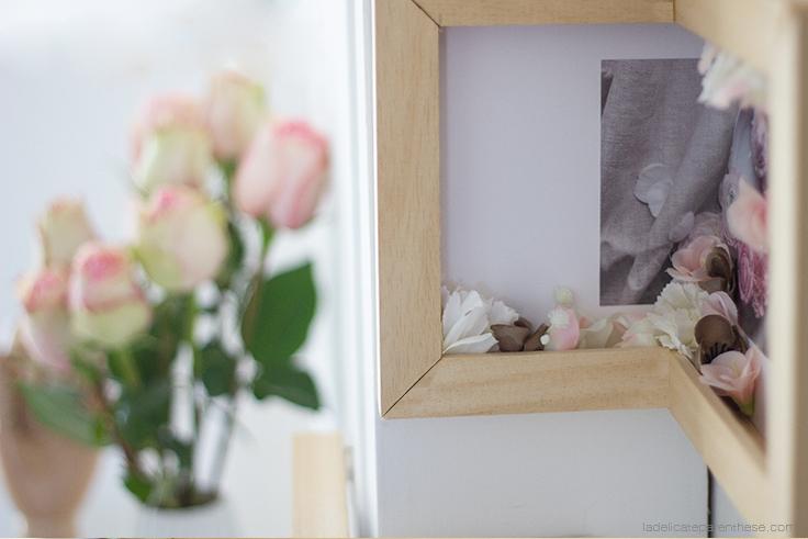 La Délicate Parenthèse DIY blog déco créer un tableau d'angle