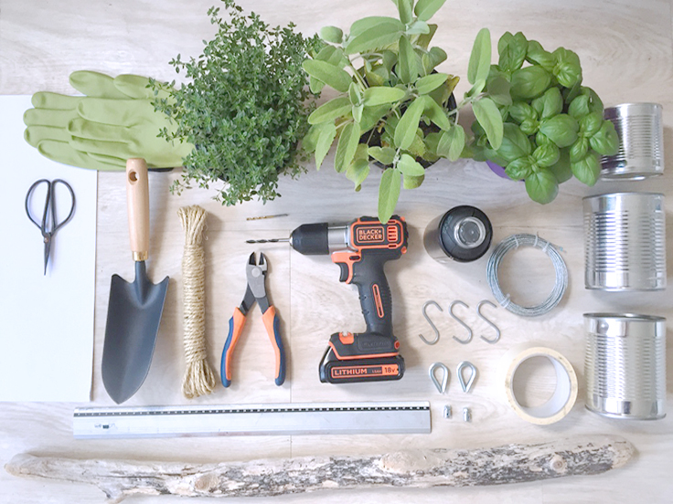 outils création DIY suspension aromatique