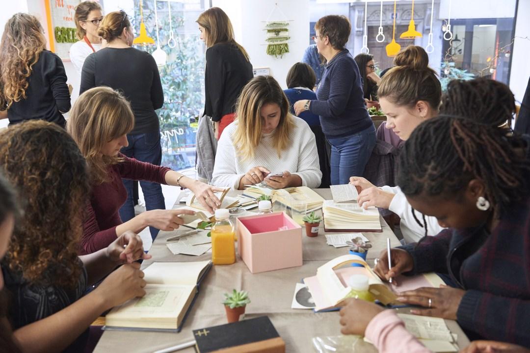 Atelier Oui are Makers DIY création du livre végétal