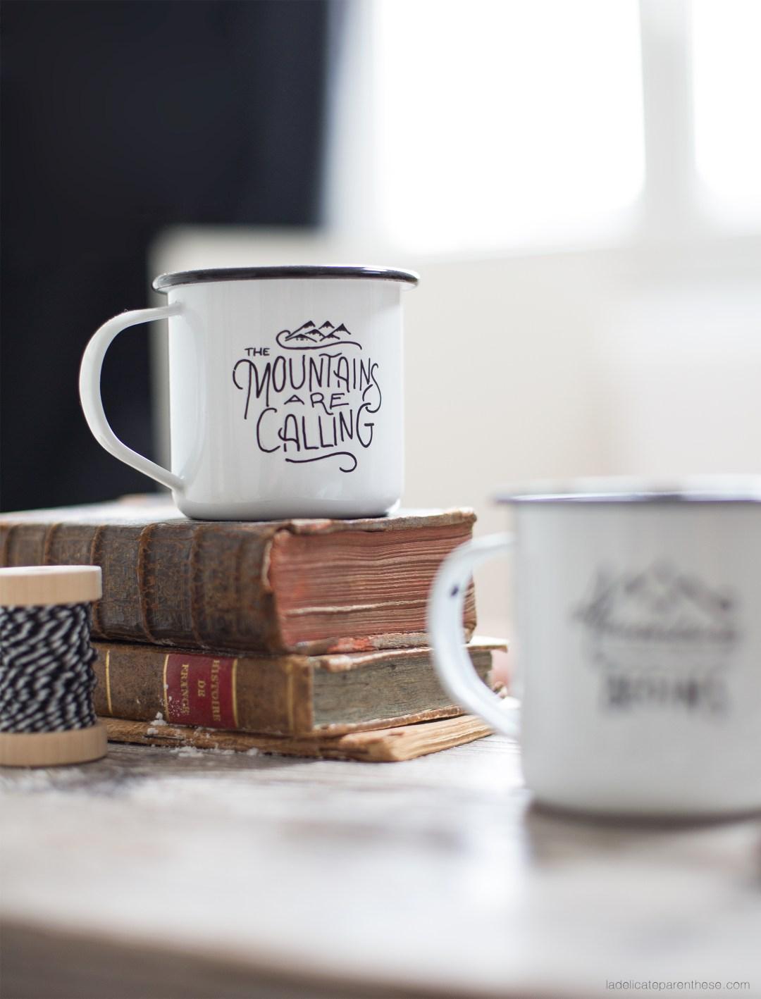 motivation création DIY aventure esprit hipster mug création DIY