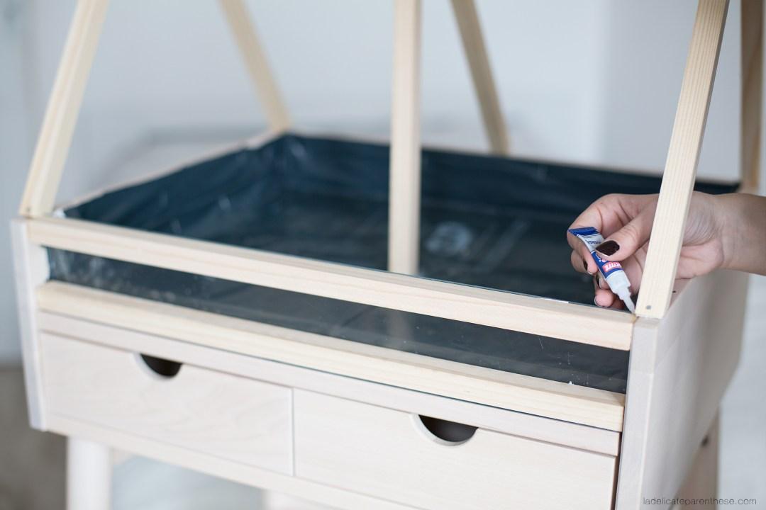 Serre intérieure IKEA DIY blog deco ikea hack