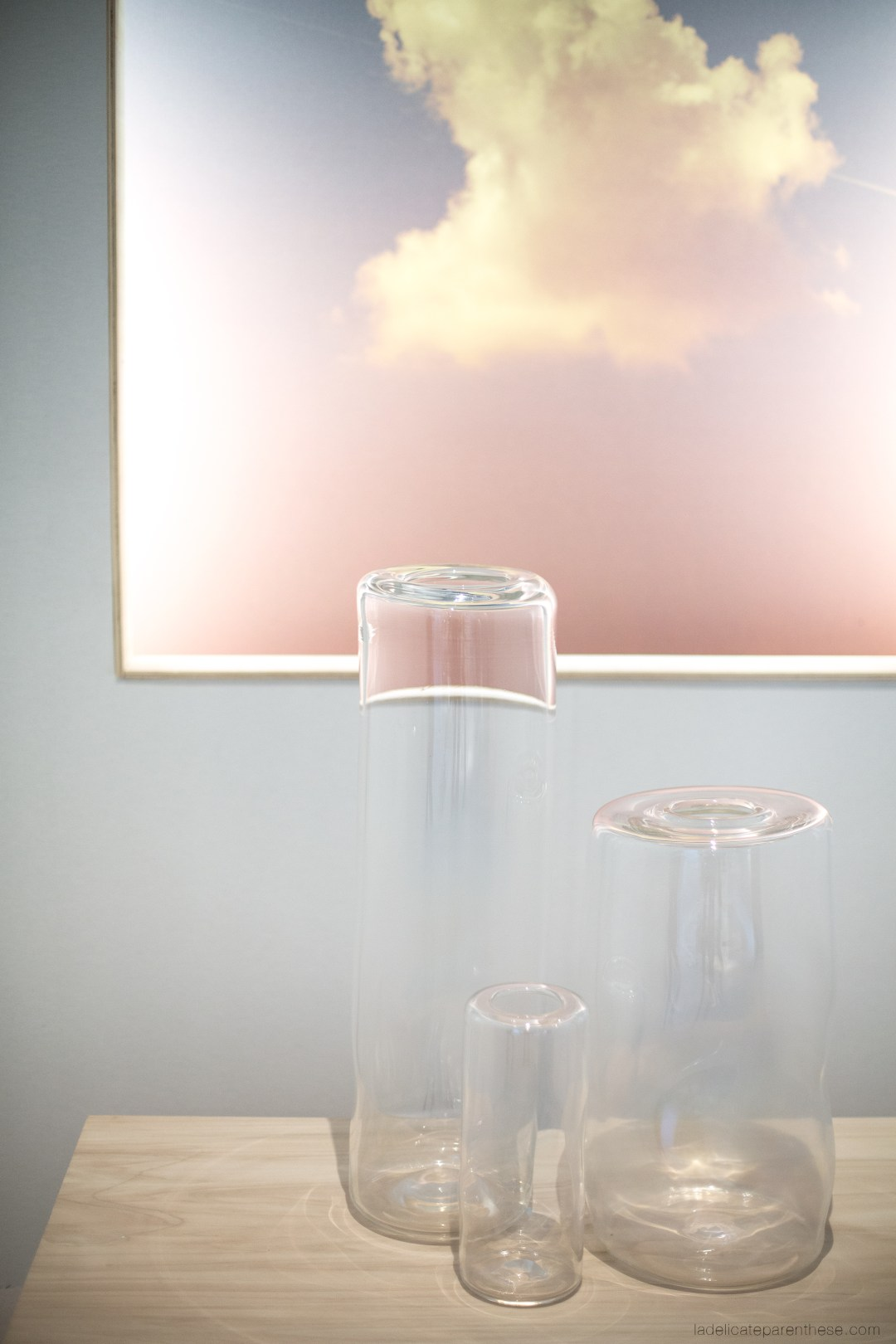 nuages vaporeux, parcours silencieux à maison&objets2017