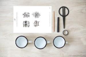 création de mugs personnalisés pour la saint valentin