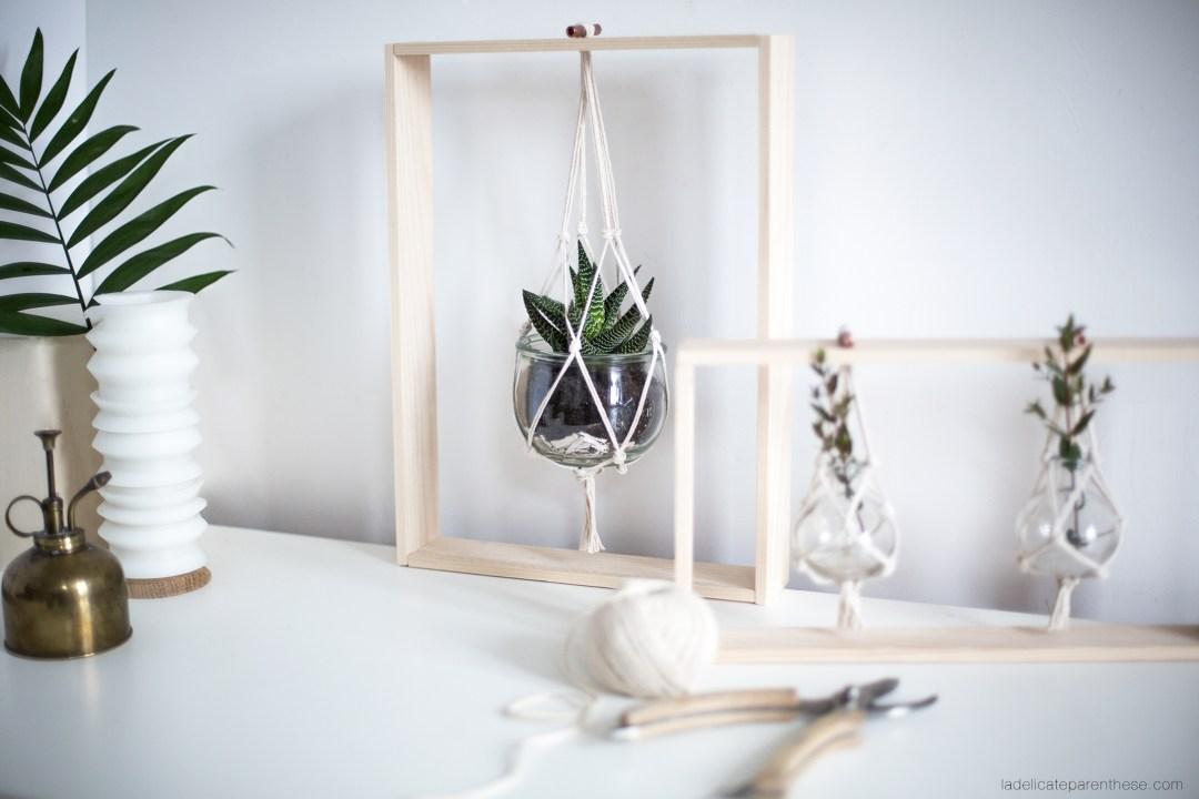 diy des cadres v g taux pour sublimer votre d coration la d licate parenth se diy d co. Black Bedroom Furniture Sets. Home Design Ideas