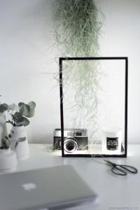 Création blog DIY handmade, cadre lumineux