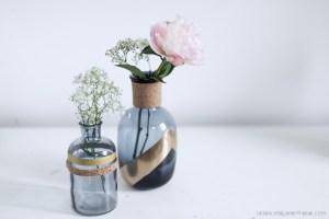 vases liège création DIY handmade