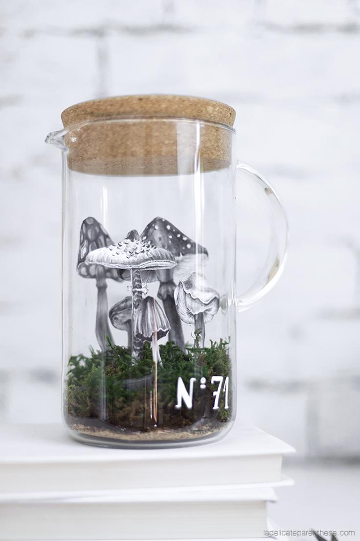home création DIY cabinet de curiosité IKEA