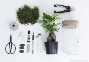 Do it yourself création ikea hack cabinet de curiosité outils