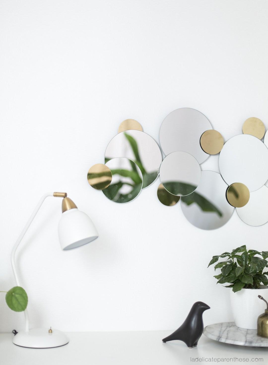 ikea hack création miroir