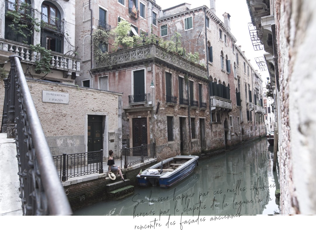 regard pensif sur la lagune Italienne la belle venise