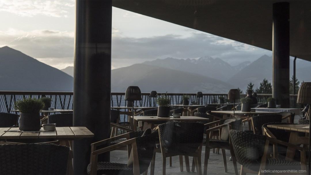 Sud tyrol en italie view, sky roadtrip dans les dolomites My arbor hotel