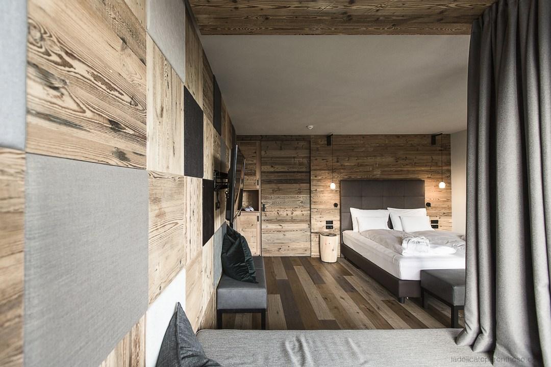 My arbor chambre d'hôtel dans les Dolomites durant notre Road Trip