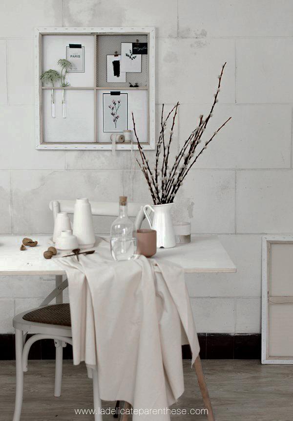 Skandinavisk décoration handmade interview slowlife