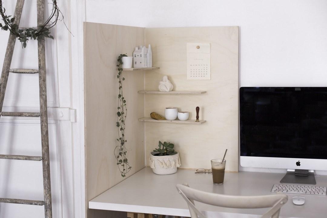 home création diy handmade meuble d'angle en bois