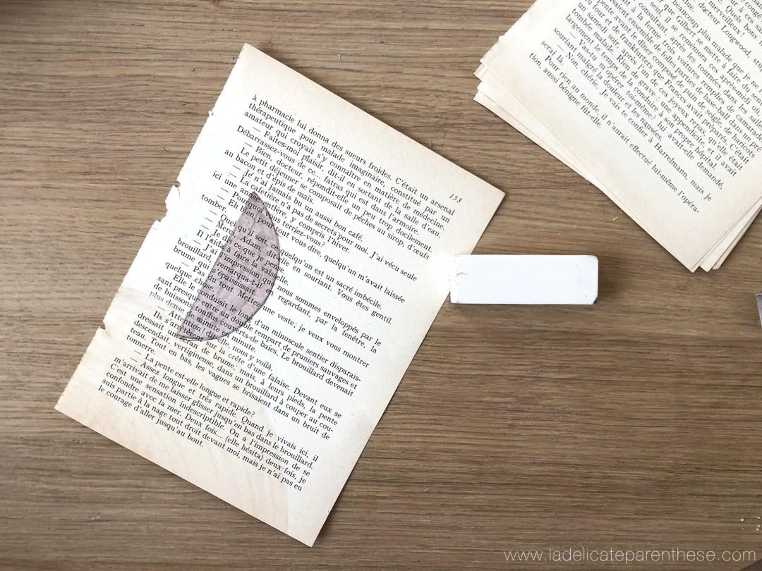 fournitures DIY pages illustrations graphiques étapes création