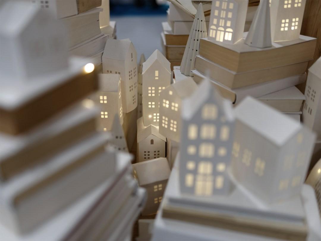 HOME creation DIY house papercut christmas