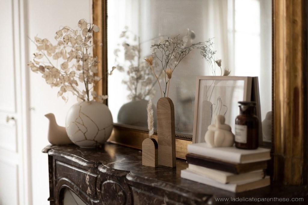 soliflore en bois arrondis inspiration et scenographie en interieur