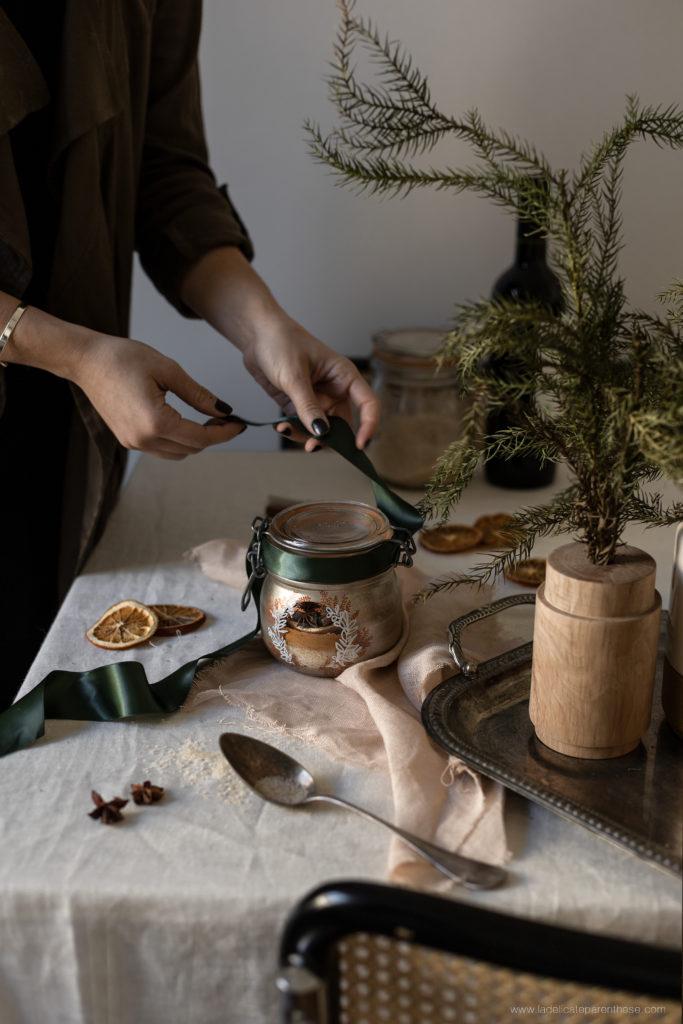 finalisation cadeaux personnalisés pour un Noël homemade