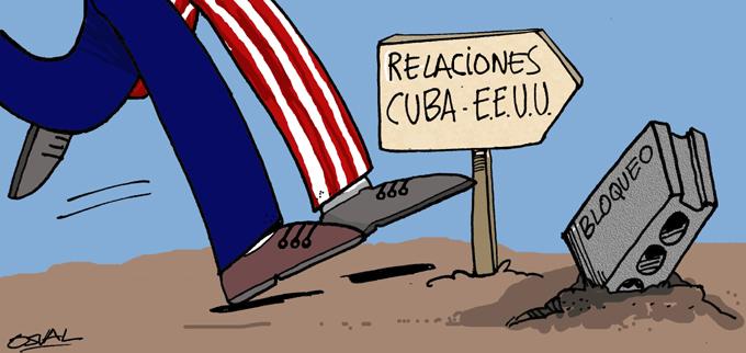 CUBA-CIEGO DE ÁVILA-CARICATURA DE OSVAL LA PIEDRA EN EL CAMINO