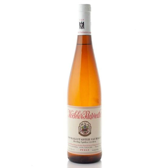 Riesling Spätlese Kallstadter Saumagen trocken 2000 Weingut Köhler-Ruprecht