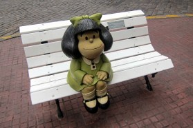 Buenos Aires - San Telmo Mafalda - Crédits Wally Gobetz - La Déviation