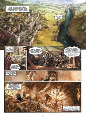 Elfes Tome 7 - éditions Soleil - planche 1 - La Déviation