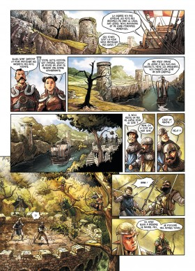Elfes Tome 7 - éditions Soleil - planche 2 - La Déviation