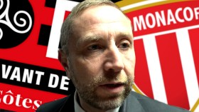 Interview de Bertrand Desplat après la victoire de Guingamp face à Monaco qualificative en finale de la Coupe de la Ligue - La Déviation